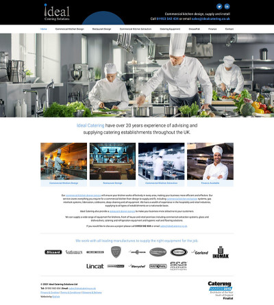 Ideal Catering Website