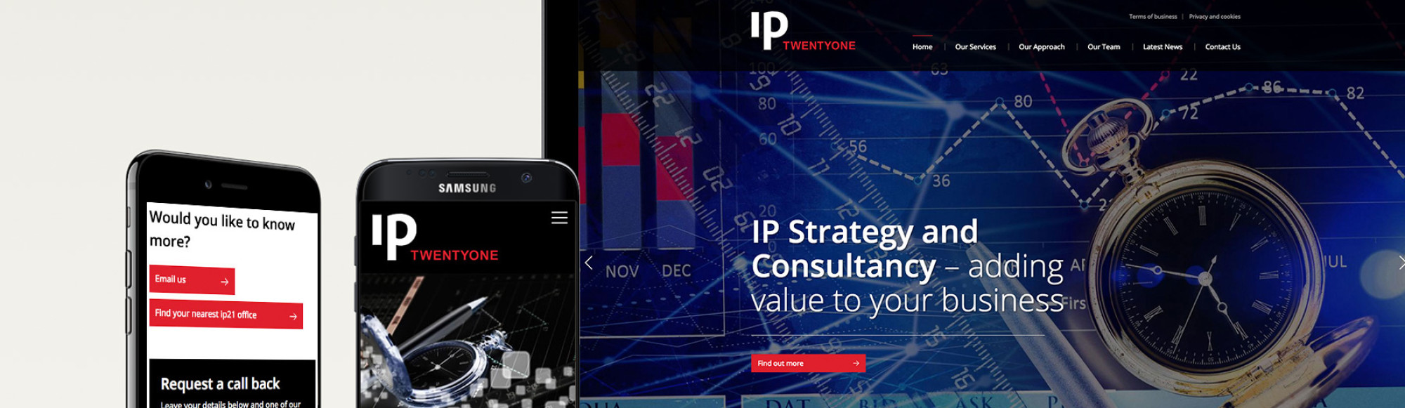 ip21 website design